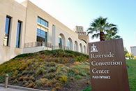 Thumbnail of: Outside Riverside Convention Center